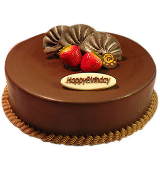 delivery chocolate cake