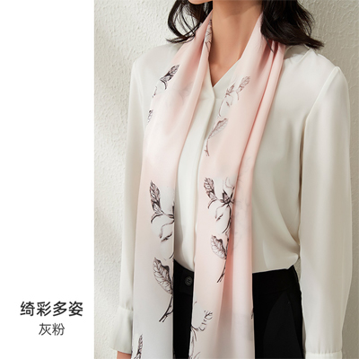 delivery silk shawl in china